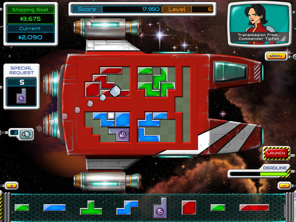 Galactic Express screen shot