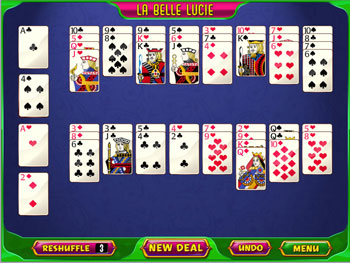 GameHouse Solitaire Challenge screen shot