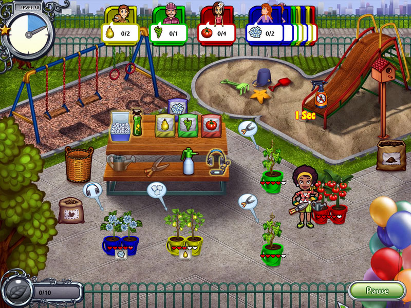 Garden Dash screen shot