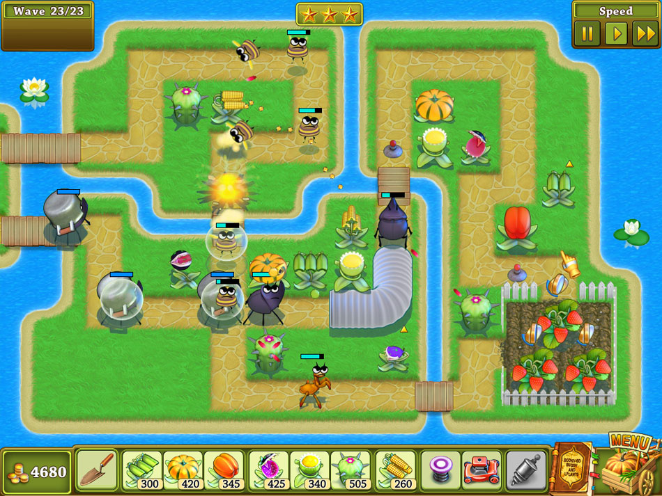 Garden Rescue screen shot