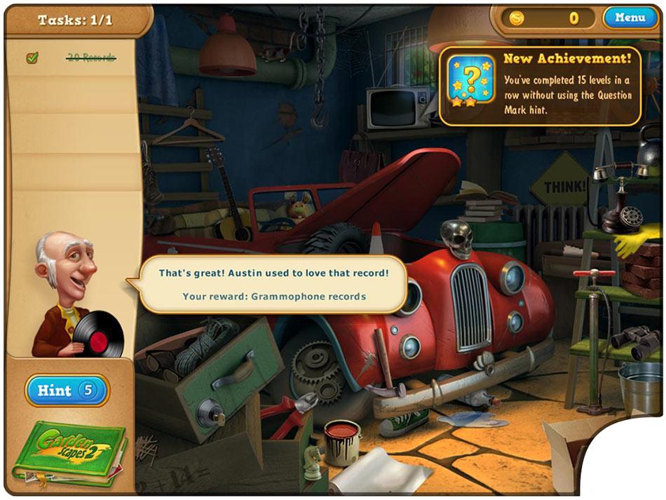 Gardenscapes 2 Collector's Edition screen shot