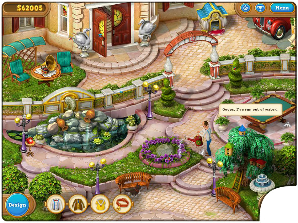 Gardenscapes 2 Collector's Edition screen shot
