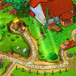 Gardens Inc: From Rakes to Riches - Help Jill to save her grandparent's house by winning a gardening competition. Play Gardens Inc: From Rakes to Riches today! - logo