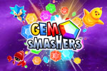 Gem Smashers is a fun match-3 puzzle game with action sequences and eight 'boss' fights to finish!