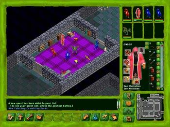 Geneforge screen shot