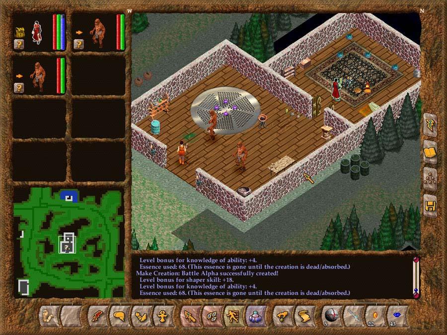 Geneforge 4 screen shot