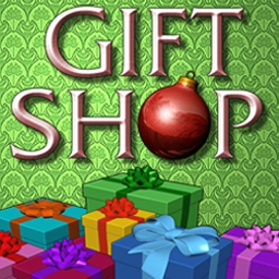 Gift Shop - Serve treats and sell fabulous gifts to holiday shoppers. - logo