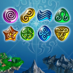 Glyph - Save a dying world by assembling glyphs in 255 levels. - logo