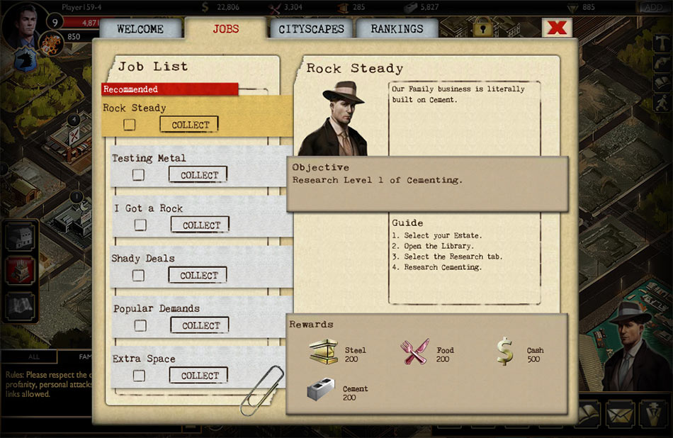 The Godfather: Five Families screen shot
