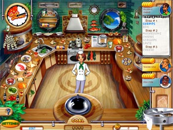Go-Go Gourmet screen shot