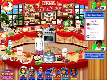 Go Go Gourmet - Chef of the Year screen shot