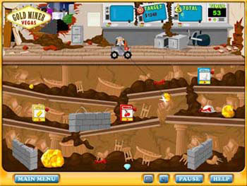 Gold Miner Vegas screen shot