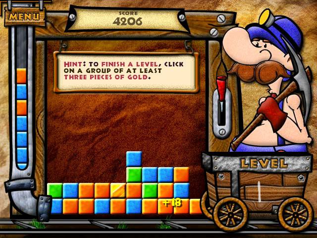 Gold Rush Deluxe screen shot