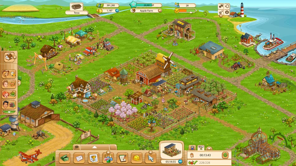 Goodgame Big Farm screen shot