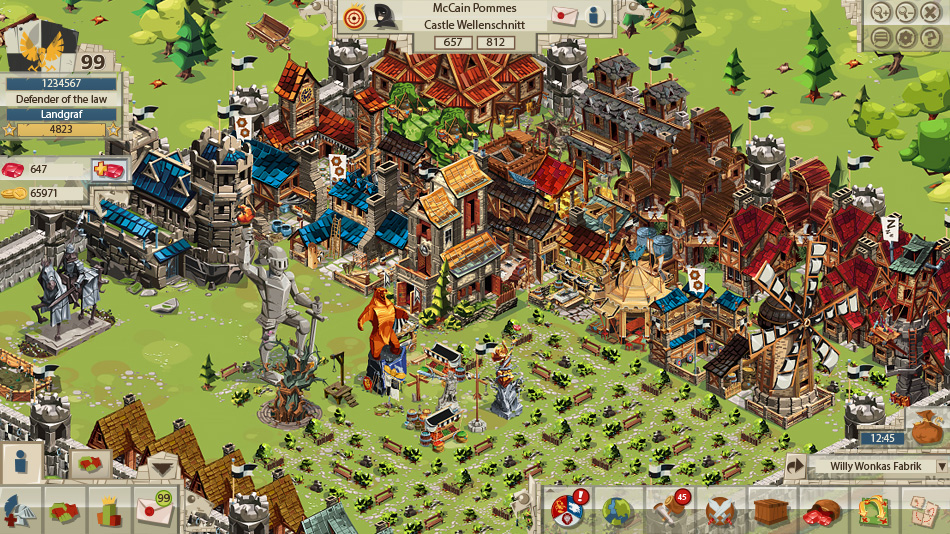 Goodgame Empire screen shot