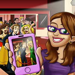 Gotcha - Celebrity Secrets - Gotcha - Celebrity Secrets is a hidden object game featuring people! - logo