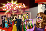 Gotcha - Celebrity Secrets is a hidden object game featuring people!