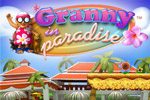 Help this groovy Granny rescue her kitties in Granny in Paradise!