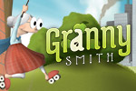 Granny Smith adores her apples... then a roller skating thief steals them from her garden! Help her get them back in this clever racing platformer!