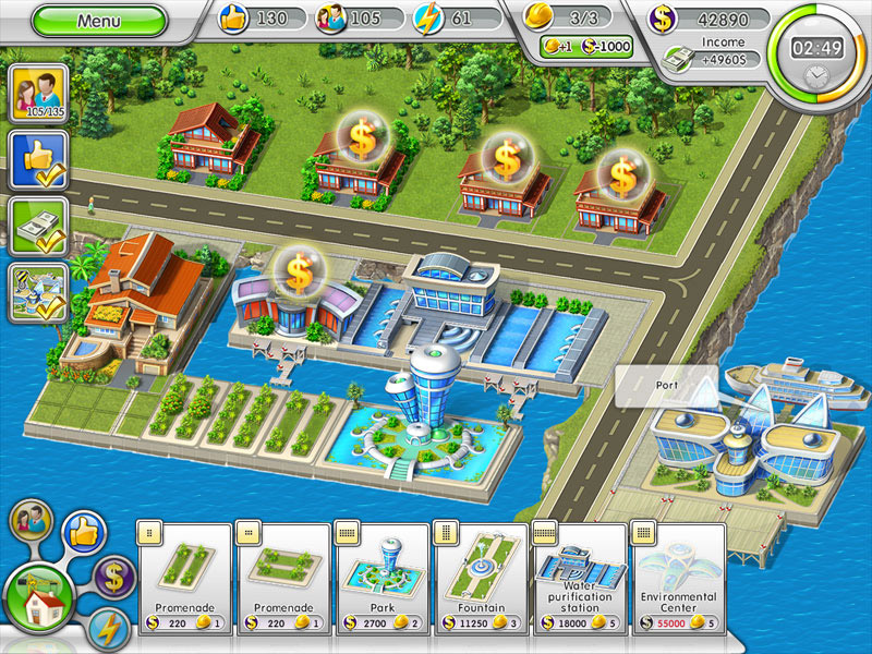 Green City: Go South screen shot