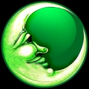 Green Moon - logo