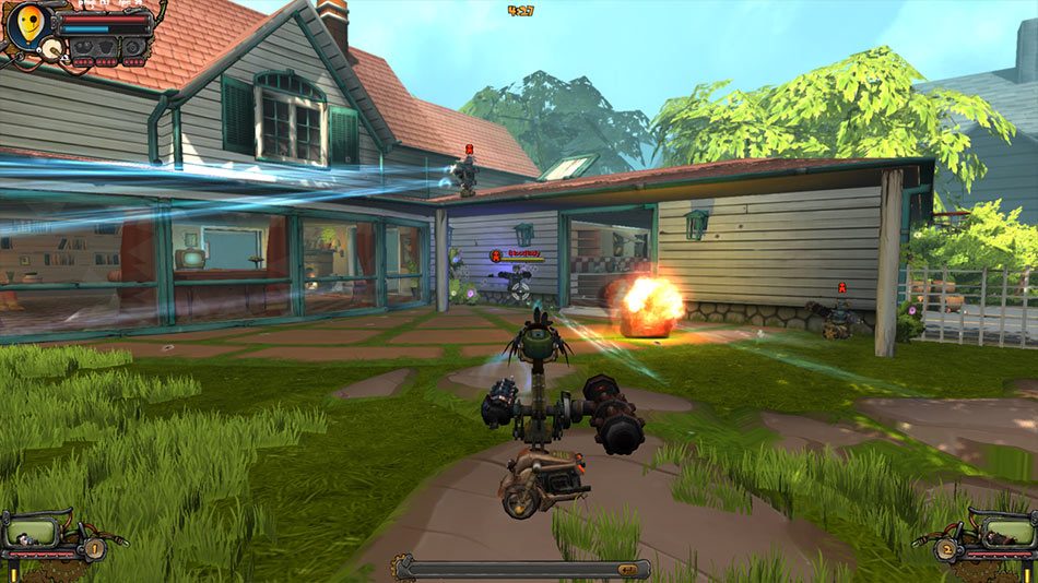 Guns and Robots screen shot