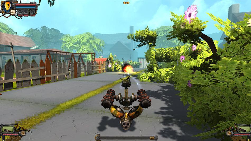 Guns and Robots screen shot
