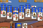 Screenshot of Gunslinger Solitaire