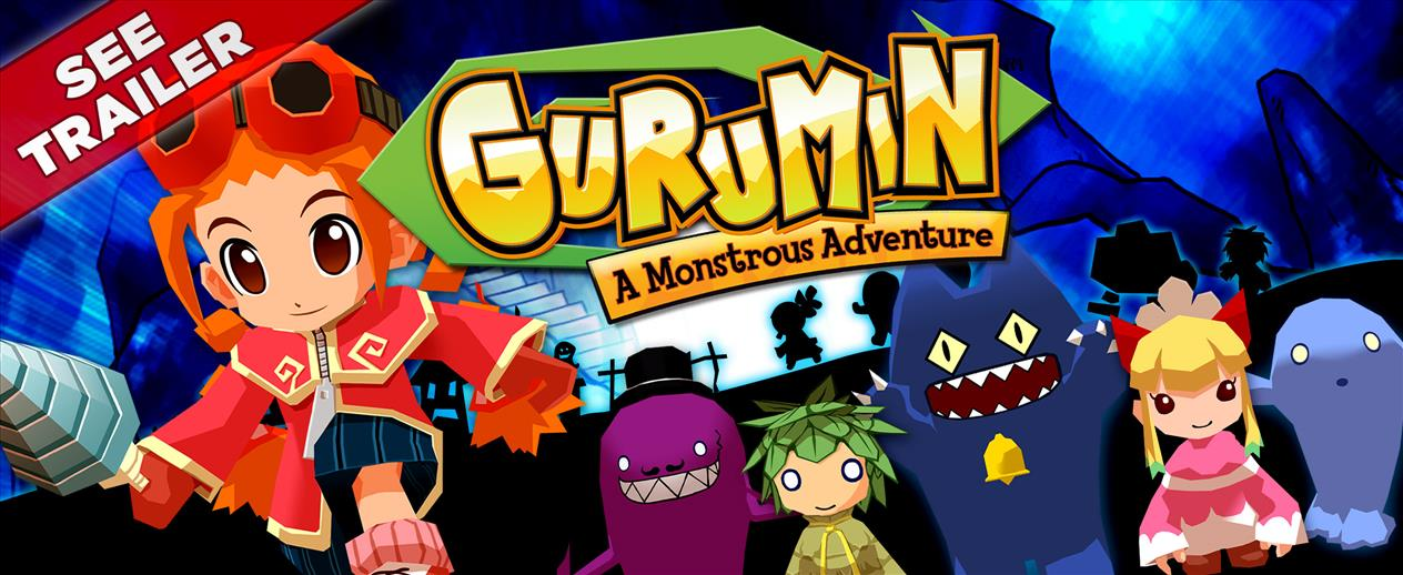 Gurumin: A Monstrous Adventure - An adorable role-playing game!