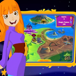 Gwen The Magic Nanny - Fill your time management game with magic in Gwen the Magic Nanny! - logo