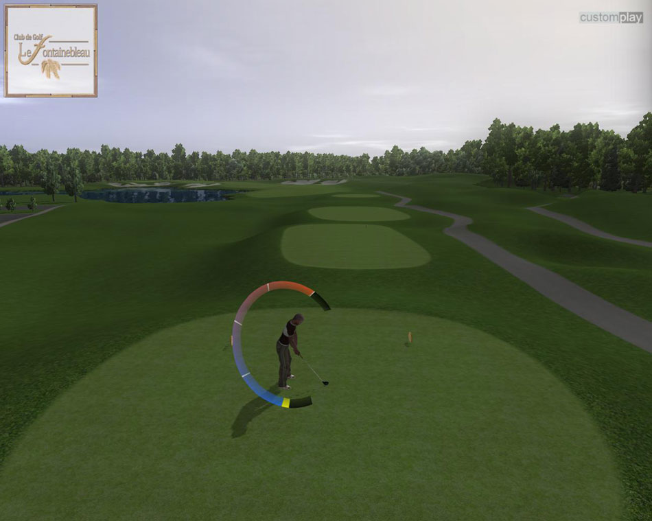 Hank Haney World Golf Master screen shot