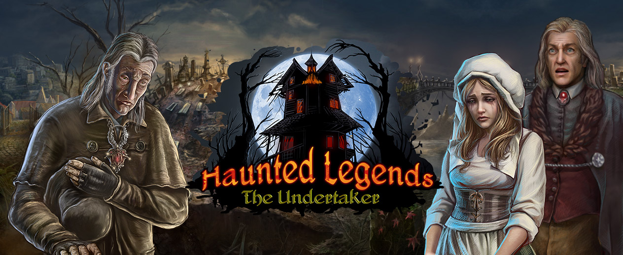 Haunted Legends: The Undertaker - Stop the undead! - image