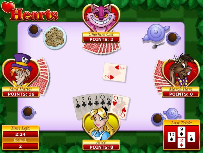 Cash Tournaments - Hearts screen shot