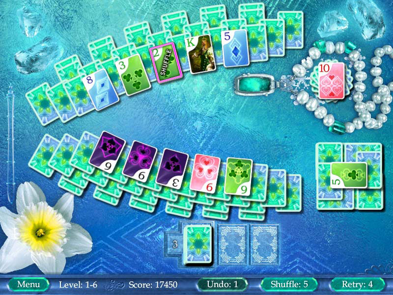Heartwild Solitaire screen shot
