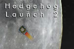 Help get a hedgehog to the moon in Hedgehog Launch 2!