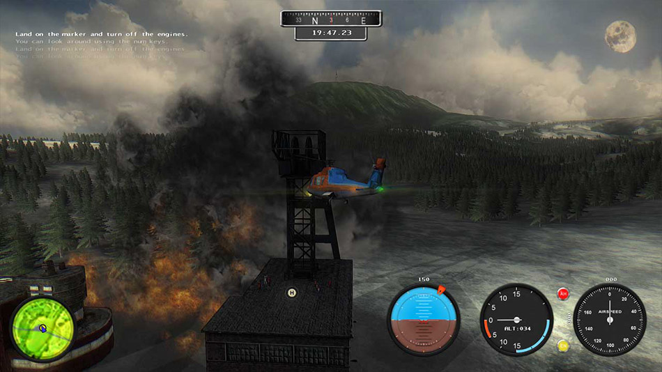 Helicopter Simulator: Search and Rescue screen shot