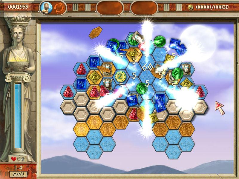 Heroes of Hellas screen shot