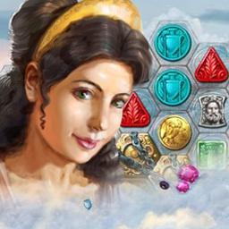 Heroes of Hellas 3: Athens - Heroes of Hellas 3: Athens continues the popular Match-3 series! Secure the help of the heroes of Olympus as you rebuild Athens. - logo