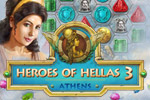 Heroes of Hellas 3: Athens continues the popular Match-3 series! Secure the help of the heroes of Olympus as you rebuild Athens.