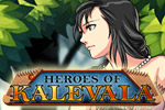 Heroes of Kalevala features fun match 3 mechanics and village building!
