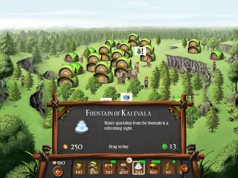Heroes of Kalevala screen shot