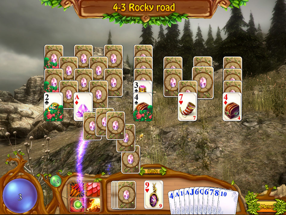 Heroes of Solitairea screen shot