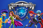 Join Herotopia for the ultimate online adventure!  You can create your own superhero, get awesome powers, and play fun games for free!