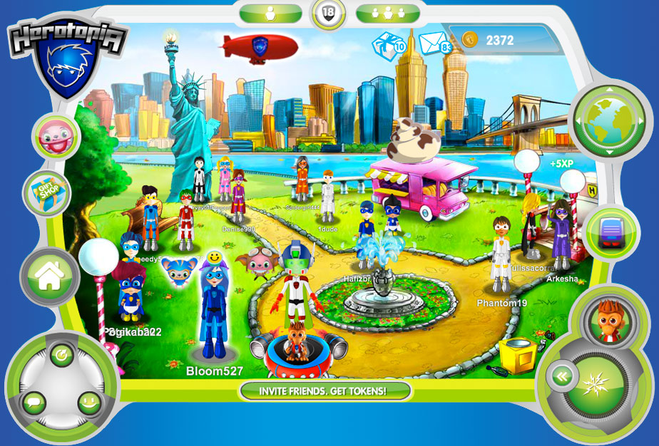 Herotopia screen shot