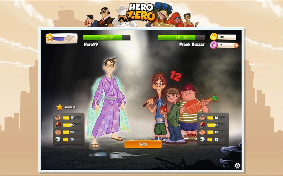 Hero Zero screen shot