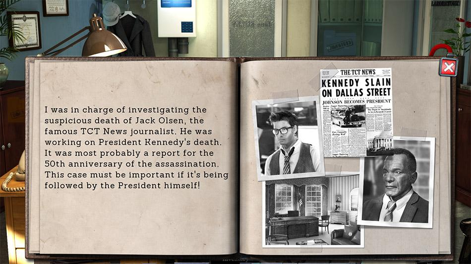 Hidden Files: Echoes of JFK screen shot