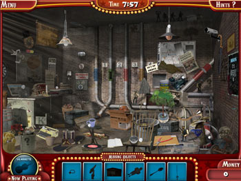 The Hidden Object Game Show screen shot