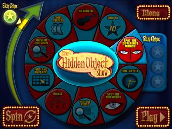The Hidden Object Game Show screen shot