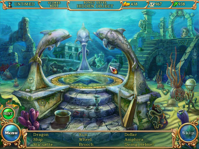 Hidden Wonders of the Depths 3: Atlantis Adventure screen shot