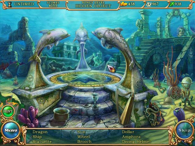 Hidden Wonders of the Depths 3: Atlantis Adventure screen shot
